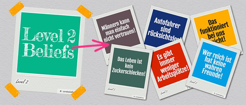 Arten von Glaubenssätzen | Level 2 Glaubenssätze | corebeliefs.de